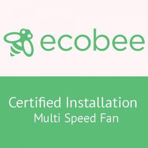 Ecobee installation 3 fan speed