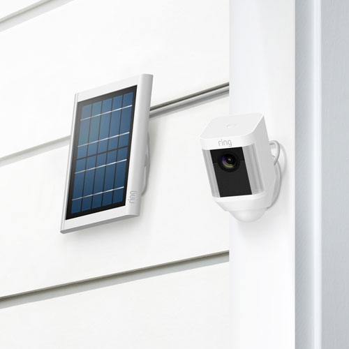 Ring Spotlight Cam Solar (White)
