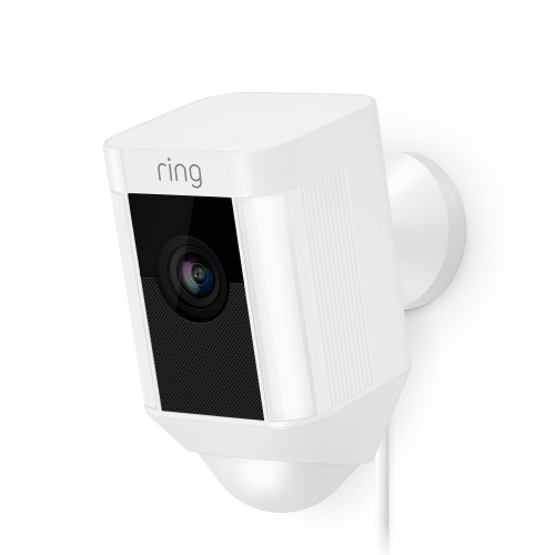 Ring Spotlight Cam Wired (White)
