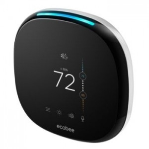 Ecobee4 smart thermostat with built-in Alexa Voice Service