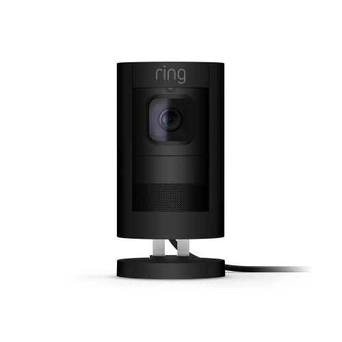 Ring Stick Up Camera Wired PoE (Black)